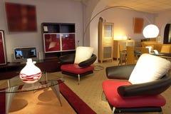 details living luxurious room Στοκ Φωτογραφία