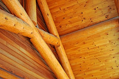 Details of log building construction. Image of log building construction details Stock Image