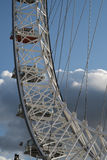 Details of the London Eye Royalty Free Stock Photography