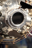 Details of Luna3 spacecraft Stock Image