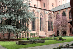 Details of Mainz Cathedral Royalty Free Stock Image