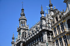 Details on the Maison du Roi, Brussels Royalty Free Stock Images