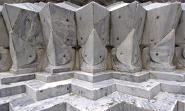 Details of marble carvings Royalty Free Stock Image