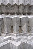 Details of marble carvings Royalty Free Stock Images