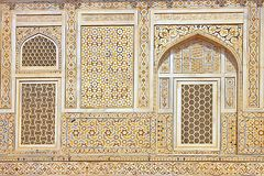 Details of  marble inlay. Stock Images