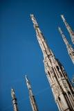Details of Milan Duomo Stock Image
