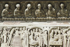 Details of Miracoli square, Pisa, Italy. Details of Miracoli square monuments. Pisa, Italy Royalty Free Stock Images