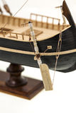 Details of model of the ship Stock Photography