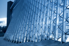 Details of the modern building stock photo
