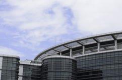 Details of Modern Building under Blue SKy Stock Photo