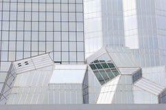 Details modern glass steel building train station Kyoto, Japan Royalty Free Stock Image