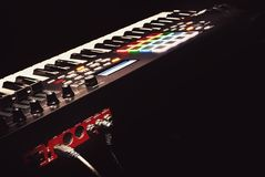 Modern Midi Controller Stock Images