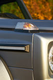 Details of modern off-road luxury car. Stock Images