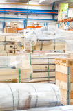 Details of modern warehouse or factory Stock Photos