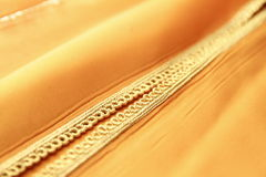 Details of a Moroccan caftan Royalty Free Stock Photo