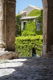Details of the mother church of polizzi generosa Royalty Free Stock Images