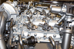 details motorn Royaltyfri Bild
