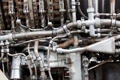 details motorn Arkivbilder