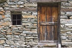 Details of a mountain village Royalty Free Stock Photography