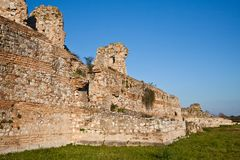 Details of Nicopolis Archeological Site Royalty Free Stock Images