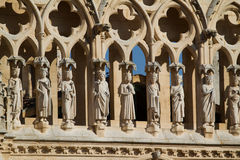 Details of The North Face of Burgos Cathedral. Spain Stock Images