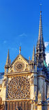 Details of Notre Dame de Paris Cathedral.France. Royalty Free Stock Photos