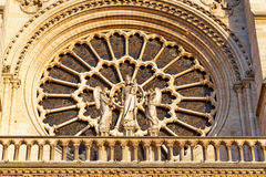 Details of Notre Dame de Paris Cathedral.France. Royalty Free Stock Photography