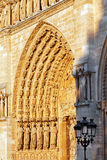 Details of Notre Dame de Paris Royalty Free Stock Photo