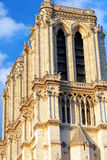 Details of Notre Dame de Paris Cathedral.France. Stock Image