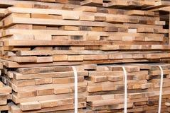 Details of oak boards stock photo