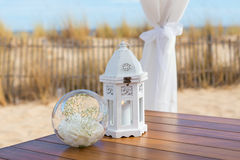 Details of objects on the wedding ceremony. Stock Photography