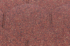 Details od red asphalt shingle Royalty Free Stock Photo