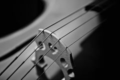 Details Of A Cello Stock Photography