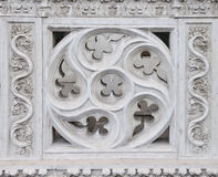 Details Of Antique Carved Balcony Decoration Royalty Free Stock Photography
