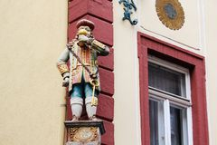 Free Details Of Architecture Decoration At Hauptstrasse In Heidelberg, Germany Royalty Free Stock Photos - 139652698