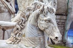 Free Details Of Horse Sculpture Stock Photo - 138425660