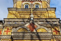 Free Details Of The Estonian Apostolic Orthodox Parnu Transformation Of Our Lord Church. Royalty Free Stock Photo - 154729665