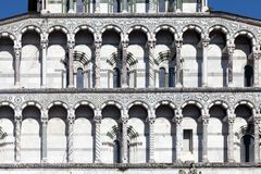 Free Details Of The Facade Of The San Martino Cathedral In Lucca Stock Image - 43617581
