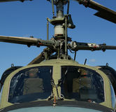 Details Of The Rotor Current Military Helicopter Royalty Free Stock Photos