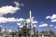 Details from an oild refinery Stock Images