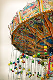 Details of the Oktoberfest carousel Royalty Free Stock Images