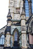 Details on Old Church in St John Royalty Free Stock Image