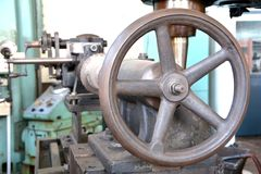 Details of an old machine Stock Photos