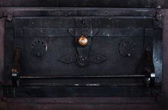 Details of an Old Oven Royalty Free Stock Photos