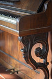 Details of an old piano Stock Photography