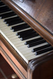 Details of an old piano Royalty Free Stock Images