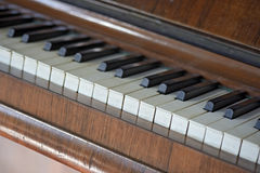Details of an old piano Stock Photos