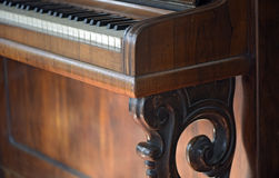 Details of an old piano Stock Images