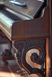 Details of an old piano Royalty Free Stock Image