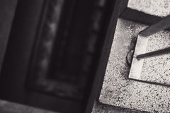 Details of an Old Stairways Royalty Free Stock Image